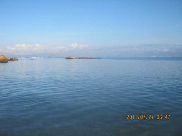 巽寮湾的海水